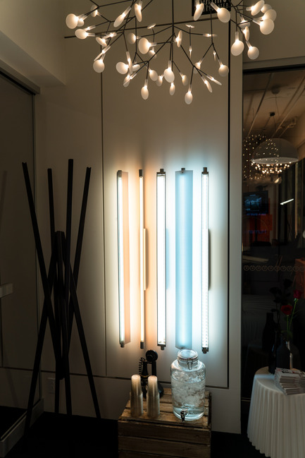 Press kit | 1152-07 - Press release | Opening of the new showroom boutique: Le Studio Luminaires - LumiGroup - Lighting Design - Delray Lighting - Photo credit: LumiGroup