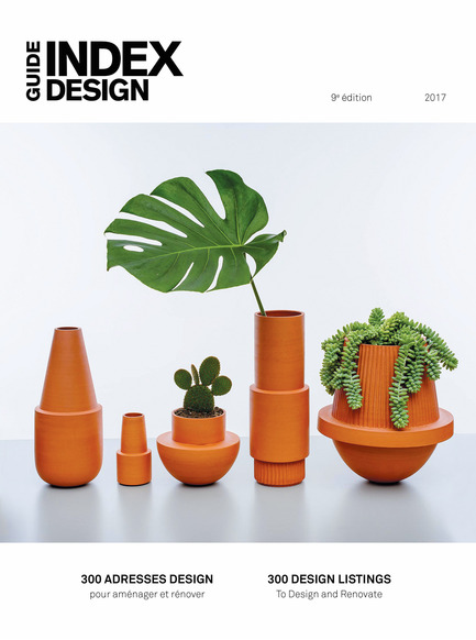 Press kit | 611-23 - Press release | Index-Design launches the 9th annual Guide – 300 Addresses to Design and Renovate - Index-Design - Edition - Cover - Photo credit: Daphné Caron