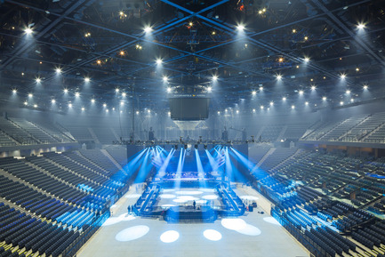 Press kit | 2042-01 - Press release | The AccorHotels Arena - DVVD architecture, design and engineering agency - Commercial Architecture - After renovation<br> - Photo credit: Sergio Grazia