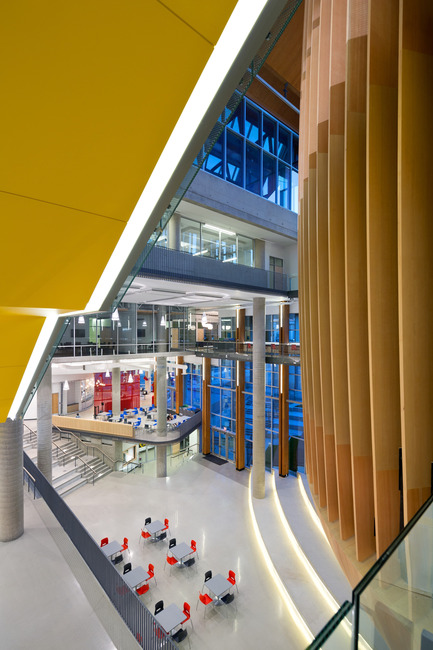 Dossier de presse | 2124-01 - Communiqué de presse | The Illuminating Engineering Society of British Columbia announces its 'Vision Award' winners for 2016 - IESBC - Lighting Design - UBC Student Union Building  - Crédit photo : Ema PeterUBC Student Union Building UBC Student Union Building <br>