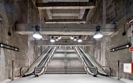 Press kit | 1830-07 - Press release | FAD Awards Winners 2016 - FAD - Fostering Arts and Design - Competition - 2016 FAD Opinion Awards - Interior Design<br><br>Three subway stations of the 9 line<br>Barcelone and l'Hospitalet de Llobregat (Spain)<br><br>Authors: <br>Garcés-de Seta-Bonetarquitectes Tec4 Enginyers Consultors, engineers  - Photo credit: Adrià Goula