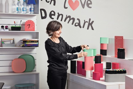 Press kit | 2164-01 - Press release | International design award to Flying Tiger Copenhagen - Flying Tiger Copenhagen - Product - Designer Lovorika Banovic with the Fold series - Photo credit: Flying Tiger Copenhagen