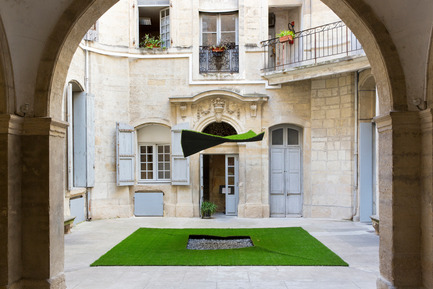 Dossier de presse | 982-30 - Communiqué de presse | Festival des Architectures Vives 2016 - Montpellier et La Grande Motte - Association Champ Libre - Festival des Architectures Vives (FAV) - Design urbain - Green Wash<br>Atelier MAP - Gabriel Lacombe, Jean-Philippe Di Marco et Carlo Tadeo - Crédit photo : Paul KOZLOWSKI ©photoarchitecture.com<br>Site : http://photoarchitecture.com