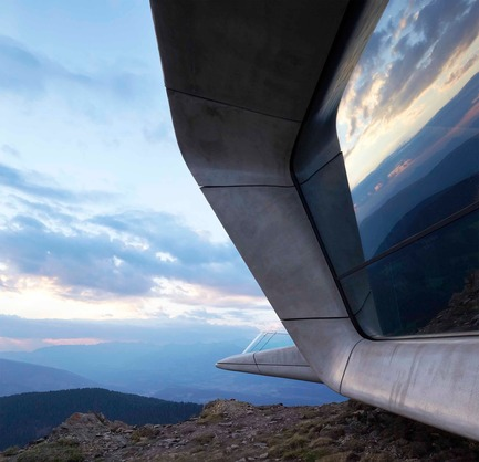 Press kit | 661-34 - Press release | World Architecture Festival announces 2016 Awards shortlist - World Architecture Festival  - Competition - Messner Mountain Museum by Zaha Hadid Architects - Photo credit: World Architecture Festival