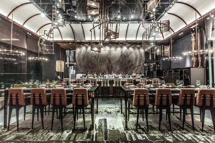 Press kit | 1080-02 - Press release | International Awards shortlist announced - INSIDE: World Festival of Interiors - Competition - Ammo Bar + Restaurant, Hong Kong<br>by WANG