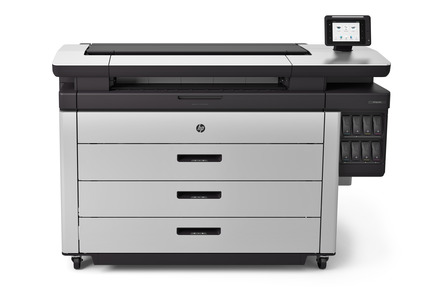 Press kit | 2171-01 - Press release | HP PageWide XL and DesignJet Printers Win Coveted Red Dot Design Awards - HP Inc. - Product - HP PageWide XL 8000 Printer - Photo credit: HP Inc.