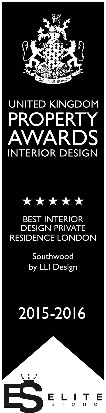 Press kit | 1701-02 - Press release | Southwood -Award winning contemporary London townhouse - LLI Design - Residential Interior Design - Southwood - Best Interior Design Private Residence, London - UK Property Awards - 2015 / 16 - Photo credit: United Kingdom Property Awards