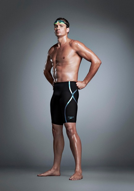 Press kit | 2170-01 - Press release | Look faster, feel faster and be faster with the SPEEDO® Fastskin LZR Racer X - Speedo - Product - Ryan Lochte - Photo credit: Speedo