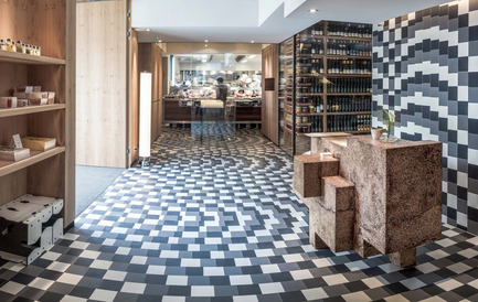 Press kit | 1124-09 - Press release | WIN Awards - Hospitality Shortlist Announced - World Interiors News - Commercial Interior Design - WIN Awards 2016 - Restaurants Category: Steirereck im Stadtpark by PPAG architects ztgmbh (Austria)<br><br>PPAG architects design takes the individual tables as its starting point. The special table arrangement, the large electric sash windows and the slightly reflective metal façade, which appears to be coated with dew, all give the guests in the new pavilion the sense of being outside and yet also at home. At the same time they experience the highest levels of acoustic and thermal comfort. The material of the pavilion's façade is brought into the interior of the existing, listed dining space, enabling rooms of differing sizes and proportions to be created according to need by means of rotatable elements.<br><br>'We all thought that the windows raised up to become an indoor-outdoor space are amazing, and also the thoughtfulness in the design and the way that it can adapt. It's impressive that it is so polished with such a high level of finish even though the individual parts all move and it is such an adaptable space. The commitment to the intricate pattern on the tiles, which must have been an absolute nightmare to plan and lay, also impressed us.' DA<br> - Photo credit: PPAG architects ztgmbh