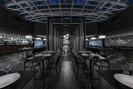 "Press kit | 1124-09 - Press release | WIN Awards - Hospitality Shortlist Announced - World Interiors News - Commercial Interior Design -  WIN Awards 2016 - Restaurants Category: The Bridge Diner by SHH Architects and Interior Designers (United Kingdom)<br><br>To deliver a more innovative offer, ExCeL London's catering partner Levy Restaurants UK worked with SHH Architects & Interior Designers to design food outlets grouped under a number of new bespoke brands. The main concept behind the design was to provide a retail catering strategy that offered a greater variety of choice, with interesting, modern spaces and a flexible food offer for different events. Positioned above the main boulevard, The Bridge Restaurant represents three offers, with a subtle ""American-style"" look and food choice with different price points and service styles offering a bar, take-away options and a premium table service restaurant.<br><br>'We were aware of the challenging context of this restaurant in a necessarily generic and neutral background – an industrial shed that exists in a difficult part of town. That said, we felt that this project achieved a very high-level, upscale experience – somewhere you'd escape to, a refuge within the exhibition centre. A well-handled and sophisticated outcome for a challenging venue.' JD<br>  - Photo credit: SHH Architects and Interior Designers"