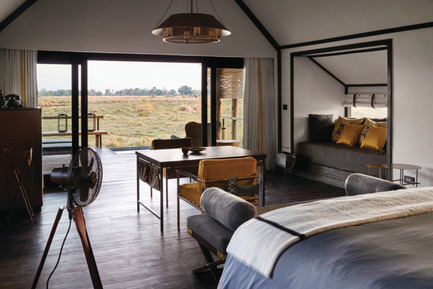 Press kit | 1124-09 - Press release | WIN Awards - Hospitality Shortlist Announced - World Interiors News - Commercial Interior Design - WIN Awards 2016 - Hotels Category: Belmond Eagle Island Lodge by The Gallery HBA (Botswana)<br><br>Perched on a private island encircled by the Okavango Delta, the redesign of Belmond Eagle Island Lodge was completed 1 November 2015 with the brief of reaffirming its reputation as the ultimate Botswana safari destination. Interior designer The Gallery HBA translated the inspiring surrounds into a journey of discovery, with each area revealing interpretations of the natural world through features, materials and patinas that convey the spirit of adventure and inspire memories.<br><br>'As one of the most beautiful places in Botswana, this fantastic getaway has an architecture that melds respectfully into its surroundings. Thoughtful, warm and graced by beautiful details in carefully selected materials, Belmond Eagle Island Lodge is a place to truly experience. Traditional craftsmanship and contemporary design are combined to produce an atmosphere that is beyond the expected as well as sustainable.' LG<br><br>'One of my favourite projects as it is a luxury hotel within the atmosphere of a scientist camp with tents in the pure nature of Africa. Details seem to be basic and from former times, but they are modern luxury. Not too shiny, very sympathetic design.' PJ - Photo credit: The Gallery HBA