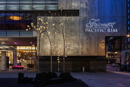 Press kit | 2065-01 - Press release | 'The Owner's Suite Collection' is Unveiled   at Fairmont Pacific Rim in Vancouver, Canada - Fairmont Pacific Rim - Commercial Interior Design - Hotel Exterior - Photo credit: Fairmont Pacific Rim