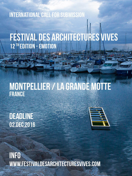 Press kit | 982-31 - Press release | Call for submissions- FAV 2017 - Association Champ Libre - Festival des Architectures Vives (FAV) - Competition - Call for submissions FAV 2017 - Photo credit: (c)FAV /Photoarchitecture