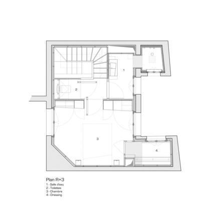 Fabulous Press kit Press release A big LITTLE nest Micka l Third floor plan
