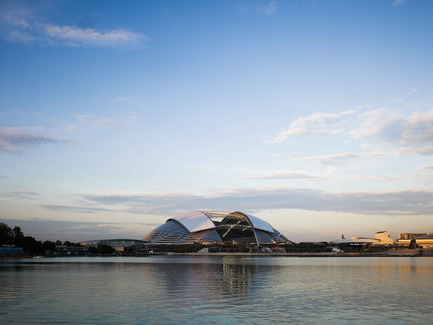 Press kit | 2186-01 - Press release | Singapore National Stadium - Arup Associates - Institutional Architecture -   With an elegant 312m dome Singapore's new stadium is the largest free spanning dome in the world   - Photo credit:  Christian Richters
