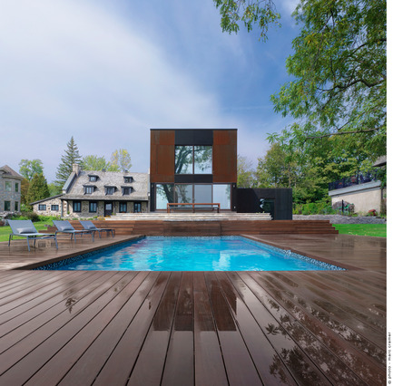 Press kit | 1062-02 - Press release | Bord-du-Lac House - Henri Cleinge, architect - Residential Architecture - Photo credit: Marc Cramer