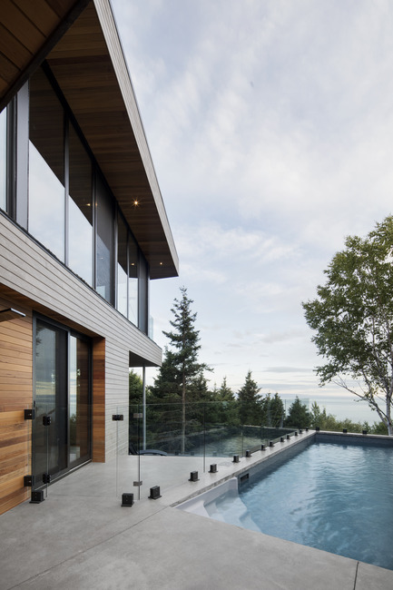 Press kit | 1527-03 - Press release | Altaïr house - Bourgeois / Lechasseur architects - Residential Architecture - Photo credit: Adrien Williams