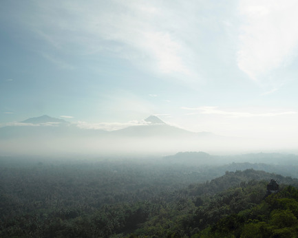 "Press kit | 756-13 - Press release | The CCA presents ""17 Volcanoes: works by Franz Wilhelm Junghuhn, Armin Linke and Bas Princen"" - Canadian Centre for Architecture (CCA) - Event + Exhibition - Bas Princen. Volcano Walk, Gunung Merapi (plateau), 2015. C-print, 125 x 156 cm.<br> - Photo credit: © Bas Princen"