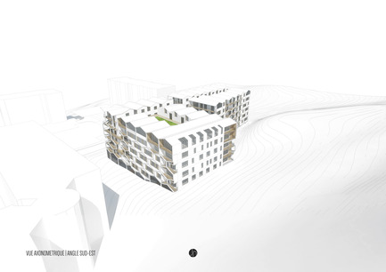 Press kit | 2033-01 - Press release | A Bee Road - Janez Nguyen Architects - Residential Architecture - A BEE ROAD : axonometric view - Photo credit: Janez Nguyen Architects