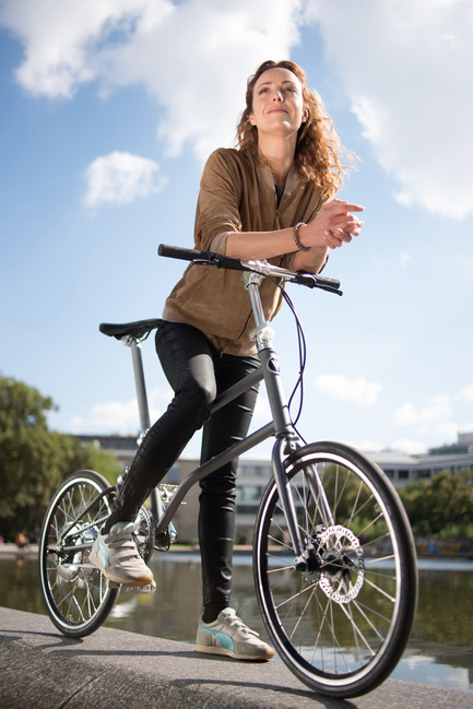 Press kit | 1833-02 - Press release | The World's First Self-Charging Electric Folding Bike - VELLO bike+ - Lifestyle - VELLO bike+ THE FIRST SELF-CHARGING ELECTRIC FOLDING BIKE - Photo credit: VELLO bike - D. Zahariev