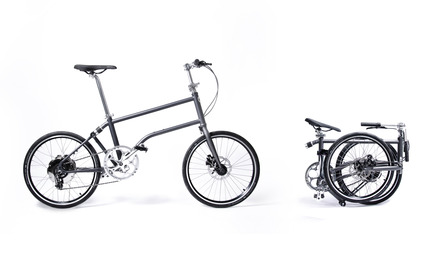 Press kit | 1833-02 - Press release | The World's First Self-Charging Electric Folding Bike - VELLO bike+ - Lifestyle - VELLO bike+ THE FIRST SELF-CHARGING ELECTRIC FOLDING BIKE - Photo credit: VELLO bike
