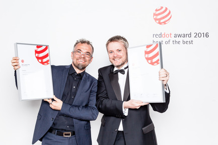 Press kit | 1696-11 - Press release | Application phase for the Red Dot Award: Product Design 2017 begins - Red Dot Award - Competition - Red Dot: Best of the Best winners 2016 (Airbus A350 XWB)<br> - Photo credit:  Red Dot<br>