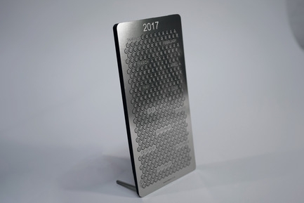 Press kit | 1196-02 - Press release | Poligon 365 Calendar Launches on Kickstarter - Poligon Ltd. - Industrial Design - 365 Calendar - Flat Hex - Photo credit: Poligon Ltd.