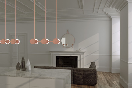 Press kit | 2110-02 - Press release | Larose Guyon's new lighting collection Le Royer - Larose Guyon - Lighting Design - Le Royer - Large01 - Photo credit: Larose Guyon