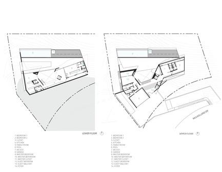 V2com newswire design architecture lifestyle press for Maison minimaliste plan