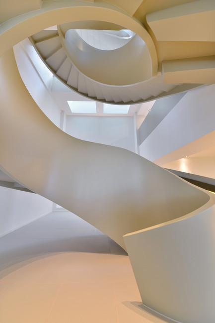 Press kit | 2233-01 - Press release | The Ribbon House - FAK3 - Residential Interior Design - Spiral - Photo credit: FAK3