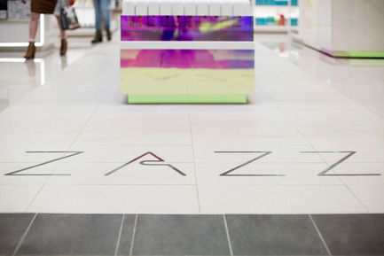 Press kit | 1586-04 - Press release | Zazz Boutique: An Iridescent Salon - Hatem+D  - Commercial Architecture - Photo credit: Maxyme Gagné