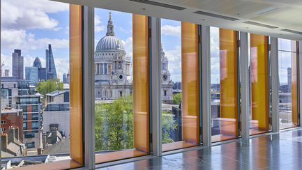 Press kit | 2337-01 - Press release | One New Ludgate - Fletcher Priest Architects - Commercial Architecture - View of St Paul's Cathedral - Photo credit: Timothy Soar