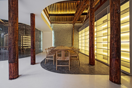 Press kit | 2264-01 - Press release | Tea House in Hutong - Arch Studio - Commercial Interior Design - Tea Area - Photo credit: Wang Ning