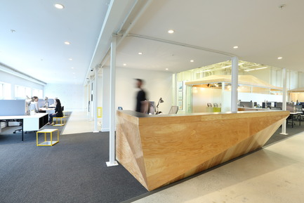 Press kit | 2073-03 - Press release | Innovative Interior Design Steps Up Tech Firm Startup - DIALOG - Commercial Interior Design - Stat Search Analytics  front office<br> - Photo credit: Ema Peter <br>