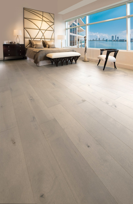 Press kit | 1639-06 - Press release | Spotlight on New Colours, Character and Lengths for 2017 at Mirage Floors - Mirage Hardwood Floors - Product -  Maple Gelato, Character, Sweet Memories Collection - Photo credit: Mirage Hardwood Floors