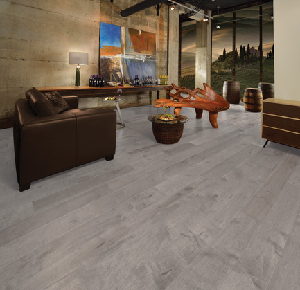 Press kit | 1639-06 - Press release | Spotlight on New Colours, Character and Lengths for 2017 at Mirage Floors - Mirage Hardwood Floors - Product - Maple Driftwood, Character, Imagine Collection - Photo credit: Mirage Hardwood Floors