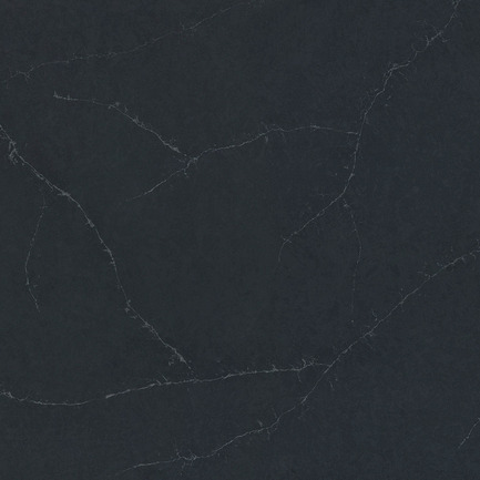 Press kit | 2349-01 - Press release | Silestone Unveils Eternal Collection with new N-Boost Technology - Cosentino - Product - Slab swatch of Silestone by Cosentino's Charcoal Soapstone<br> - Photo credit: Cosentino