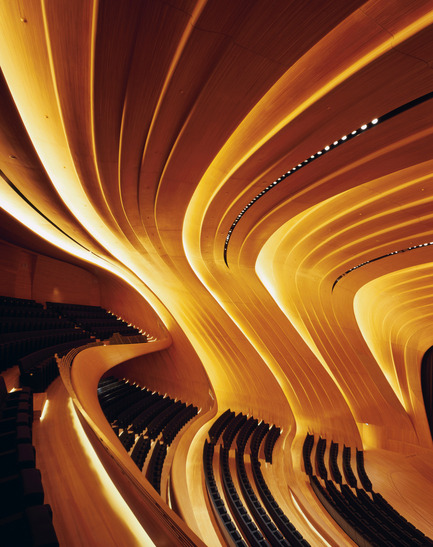 Press kit | 1080-02 - Press release | International Awards shortlist announced - INSIDE: World Festival of Interiors - Competition - Heydar Aliyev Centre, Azerbaijan<br>by Zaha Hadid Architects