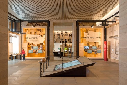 Press kit | 1080-02 - Press release | International Awards shortlist announced - INSIDE: World Festival of Interiors - Competition - Bill & Melinda Gates Foundation Visitor Center, United States of America<br>by Olson Kundig Architects