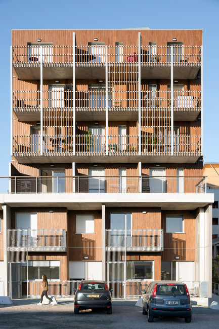 Press kit | 2382-01 - Press release | 145 Student Housing in Bassins à Flot - Gardera-D Architecture - Residential Architecture - Photo credit: Jean François Tremege