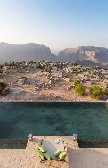 Press kit | 2177-02 - Press release | Lotfi Sidirahal from Atelier Pod Designs the Highest Five Star Resort in the Middle East: Anantara Jabal Akhdar - Atelier Pod - Lifestyle - Bed Royal Mountain Villa Detail - Photo credit: Anantara Jabal Akhdar