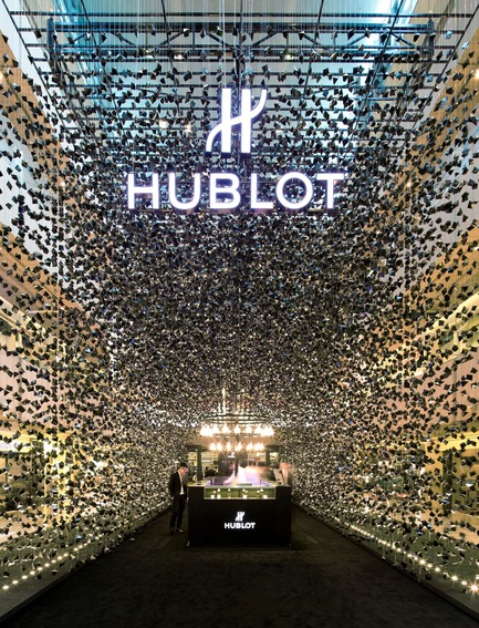 Press kit | 1080-02 - Press release | International Awards shortlist announced - INSIDE: World Festival of Interiors - Competition - Hublot Pop-Up Store, Singapore, Republic of<br>by Asylum Creative Pte Ltd