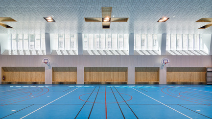 Press kit | 2388-01 - Press release | LESS - Urban amplifier - AAVP ARCHITECTURE - Residential Architecture - Gymnasium - Photo credit: © Pierre L'Excellent