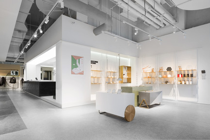 Press kit | 2264-02 - Press release | Magmode of Hangzhou Kerry Center Store - RIGI Design - Commercial Interior Design - The diversified way of life - Photo credit: Photography: Shao Feng