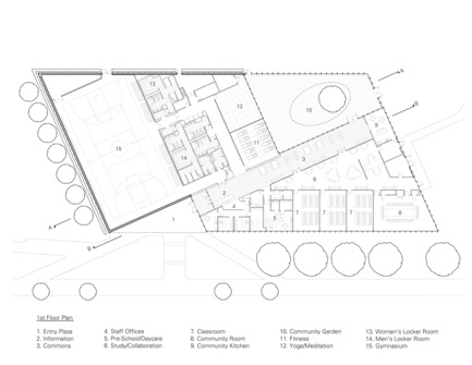 Press kit | 2353-01 - Press release | TREC - ikon.5 architects - Institutional Architecture - Floor Plan - Photo credit: ikon.5 architects