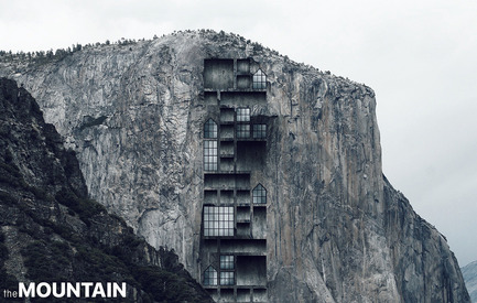 Press kit | 1127-13 - Press release | Winners 2017 eVolo Skyscraper Competition - eVolo Magazine - Competition - Mountain Skyscraper in Yosemite - honorable mention - Photo credit: Ryan Ibarra