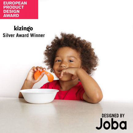 Press kit | 2447-01 - Press release | Kizingo's Toddler Spoon - Joba Design - Industrial Design - Cover photo  - Photo credit: Kizingo