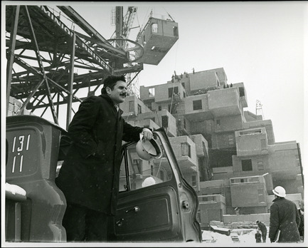 Press kit | 748-31 - Press release | Montreal Celebrates the 50th Anniversary of Architect Moshe Safdie's Pioneering Habitat '67 With a New Exhibition at UQAM Centre de Design / June 1 through August 13, 2017 - UQAM Centre de Design - Event + Exhibition - Moshe Safdie at Habitat, 1966 - Photo credit: Collection of Safdie Architects