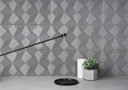 Press Kit | 2459 01   Press Release | Concrete Wall Decoration Tiles    Shadow