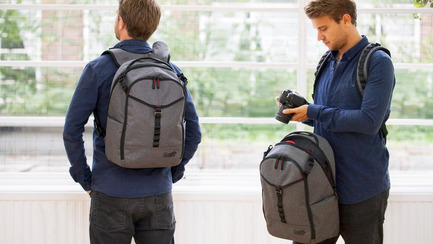 Press kit | 2599-01 - Press release | Wolffepack Capture, the Orbital Backpack, Wins 3 International Design Awards in 2017 - Wolffepack - Product - Wolffepack Capture, the ultimate backpack for cameras and access - Photo credit: Wolffepack Limited